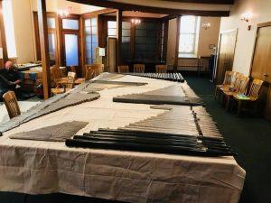 Restored pipes at First Presbyterian, Carlisle, PA